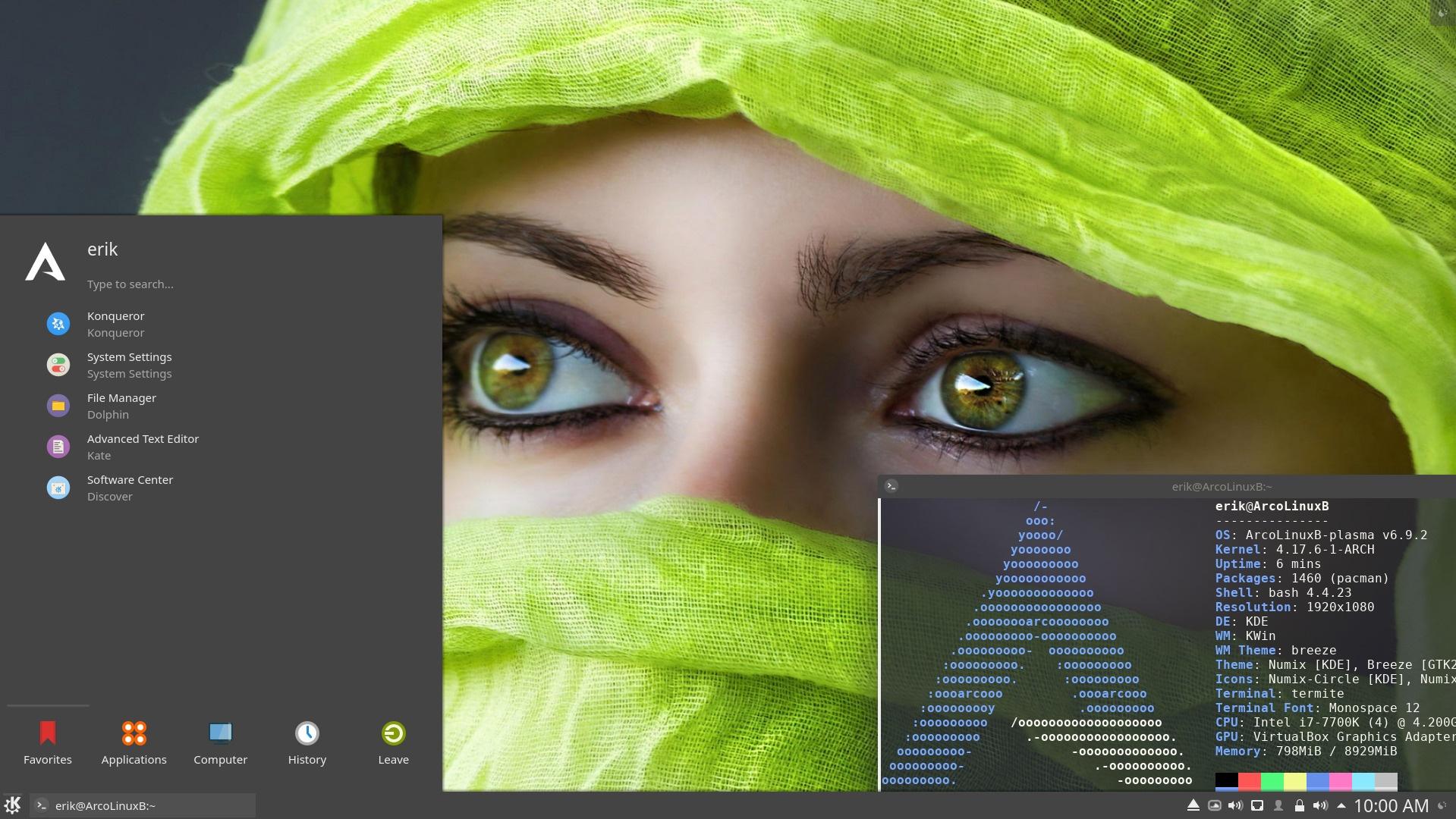 A new desktop is out on ArcoLinux – Plasma / Kde