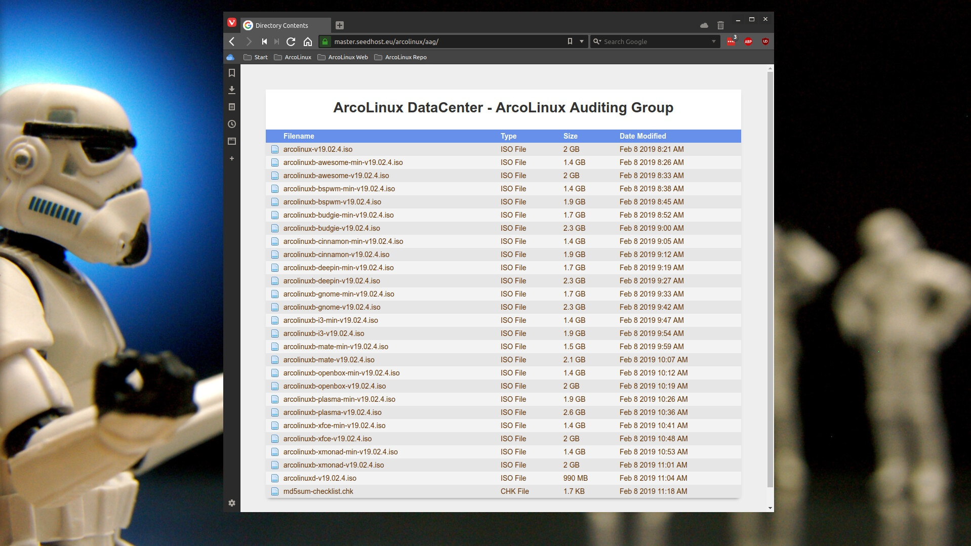 ArcoLinux starts with AAG or ArcoLinux Auditing Group