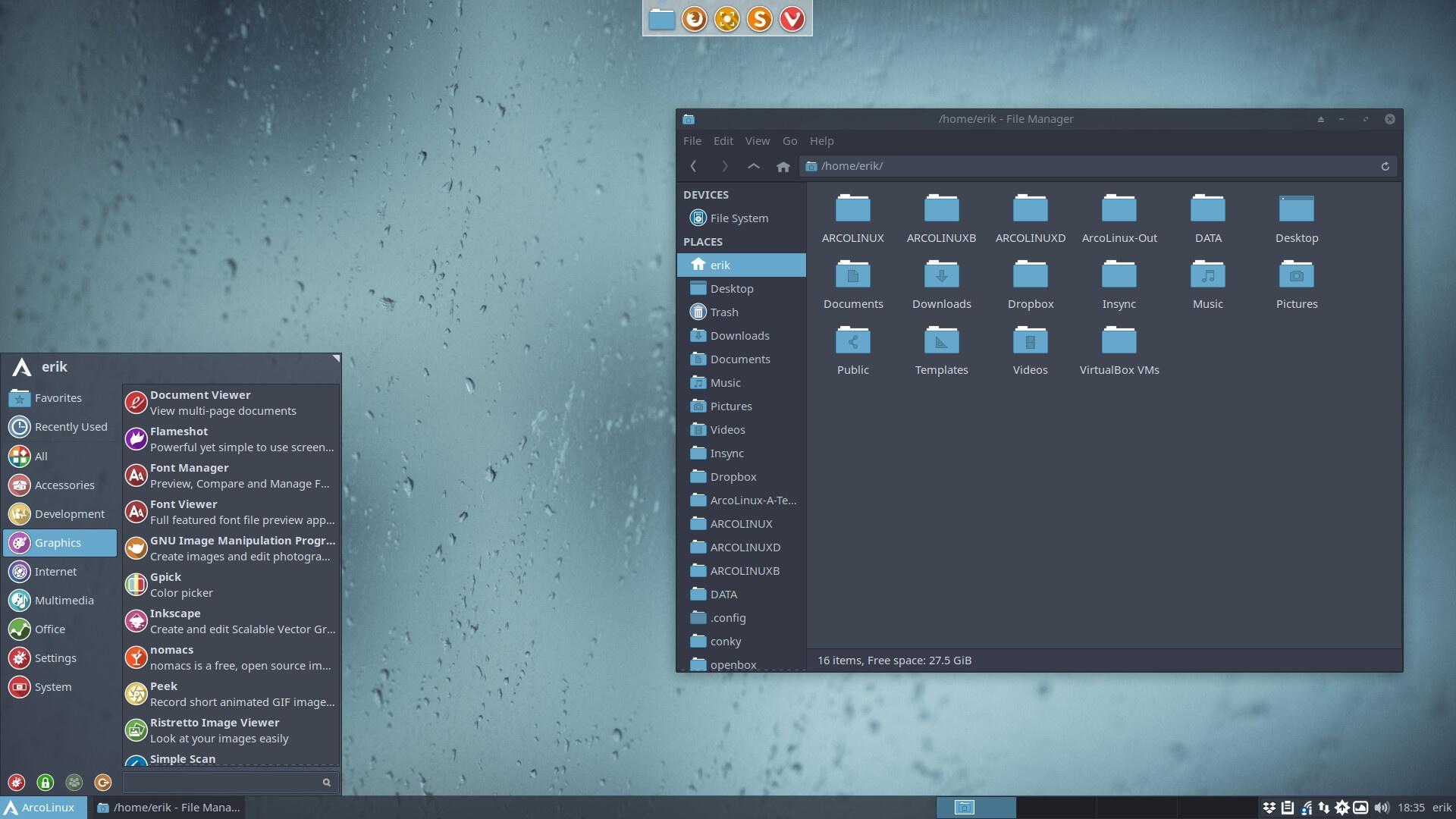 ArcoLinux -D -B 19.3